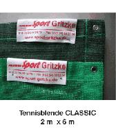 Tennisblende CLASSIC 2m x 6m